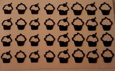 Cute Cupcake Nail Art Decal Stickers-Set of 32-Assorted Size ~Buy 3 Get 1 Free!~