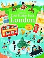 First Sticker Book: London von James Maclaine (2014, Taschenbuch)