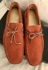 New In Box Men's Gold Brothers Coral Suede loafers Size 10  RRP £295.00