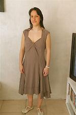 dress robe en lycra marron HIGH USE taille 44  NEUVE ÉTIQUETTE valeur 400€