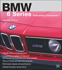 BENTLEY BMW 6 SERIES ENTHUSIAST COMPANION OWNERS SPECIFICATIONS MANUAL BOOK