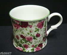 1 Summertime English Fine Bone China Chintz Mug Cup Beaker By Milton China