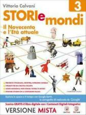 Storie e mondi vol.3 Mondadori A.Scuola Vittoria Calvani cod:9788824744362