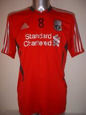 Liverpool Adidas Training Adult L Gerrard Football Soccer Shirt Jersey LA Galaxy