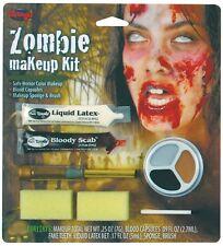 Halloween costume horror zombie face paint makeup kit #9422zg new