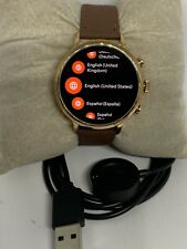 Fossil Gen 4 Authentic Digital Dial Smart Watch Custom Band FTW6018 BA151