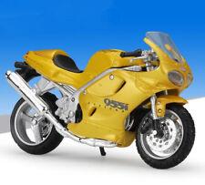 1:18 Maisto Triumph DAYTONA 955i Motorcycle Bike Model Yellow New in box