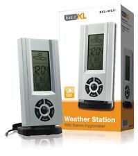 Digitale Wetterstation Hygrometer inkl. Uhr u. Kalender