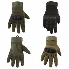 Men Cool Motorcycle Riding Gloves Military Outdoor Tactical Bike Protective