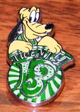"Disney Official Trading Pin Twenty 13 ""2013"" Pluto the Dog (Hat Pin / Brooch)"
