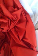 """Rollo de 10 metros Scarlet Rojo Calidad 60"""" de ancho de tela Dance Theater Costumes"""