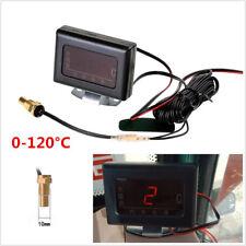 Universal Car SUV Digital Display Water Temperature Gauge+10mm Sensor Head Plug