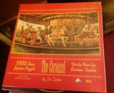 Vintage Lee Durbin  1980's The Carousel 1000 pc. Jigsaw Puzzle Sealed