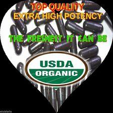 BLACK WALNUT HULLS Pinworm Ringworm Tapeworm Certified Organic 100 X CAPSULES
