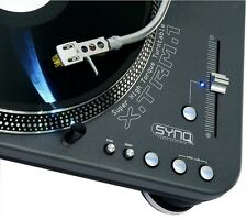 2x SYNQ X-TRM-1 Profi Turntable DJ Plattenspieler XTRM1 XTRM-1 NEU! UVP 918,-