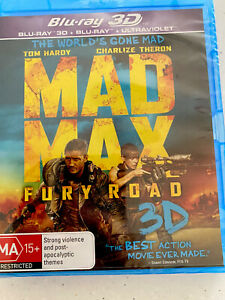 Mad Max - Fury Road Blu-ray 3D. New Still Sealed In Plastic Collect Or Post