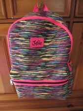 NWT~HTF- Girls JUSTICE Multi-Colored Backpack-School!
