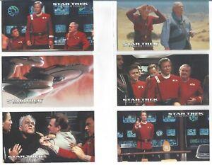 1994 Skybox Star Trek Generations Widevision Set 72 NM/MT In Ultra Pro 6 Pockets
