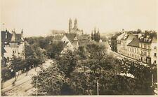 32758 Foto AK DRESDEN STREHLEN Wasaplatz mit Christus Kirche um 1930