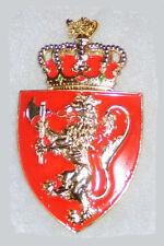 Medieval Norway Nordic Norse Royal King Lion Order Knight Battle Badge Medal War