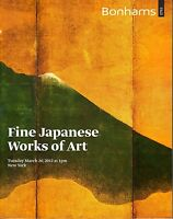 Bonhams March 20 2012 New York Fine Japanese Works of Art Auction Catalog