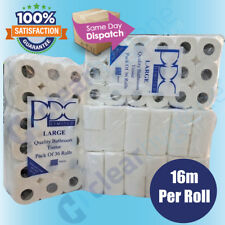 144 Rolls x 16m 2Ply Quilted & Embossed Economical Toilet Tissue