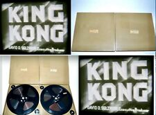 Super 8 Sound Film - KING KONG -  RKO 1933 (2) x 400' Reels Monster Movie