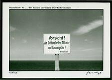 "Jürgen Nagel (1942 Berlin, lebt in Altlandsberg) ""Startbasis 81...""  -P.F. 1981"