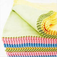 10Pcs Glasses Cloth Microfibre Camera Lens Phone Spectacle Screen Cleaning Cloth
