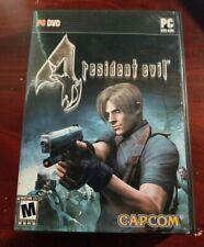 Genuine U.S. Resident Evil 4 PC DVD-ROM 2006 Capcom