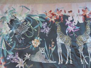 Codello das schönste Tuch exotische Tiere und Blüten Seide Cashmere bunt neu