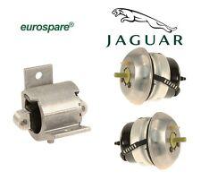For Jaguar Super V8 Vanden Plas XJR Front & Rear Engine Transmission Mount Kit