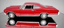 Chevrolet Impala, SS396, 1965, - Red , Classic Metal Model Car