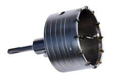 SDS Plus Bohrkrone Dosenbohrer Lochbohrer Kernbohrer SDS Plus 100 mm mit Bohrer