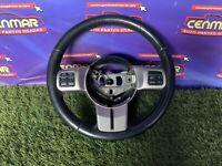 11 12 13 Jeep Grand Cherokee Steering Wheel Controls Black 1JH881XLAF OEM