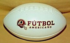REDSKINS FOOTBALL FUTBOL AMERICANO FOAM BALL SOUVENIR MINI MINIATURE WASHINGTON.