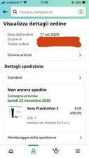 Sony PlayStation 5 PS5 con lettore - PREORDER - D1 AMAZON Introvabile