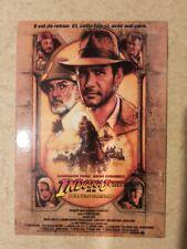 carte postale INDIANA JONES et la dernière croisade Harrison Ford Sean Connery