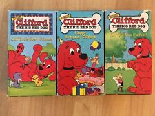 Clifford Happy Birthday Cliffords Best Friends Clifford Tries Best VHS  Lot Of 3