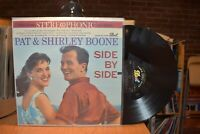Pat & Shirley Boone Side by Side LP Dot 25199 Stereo