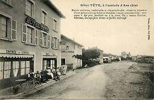 CARTE POSTALE / AIN / HOTEL TETE A L'ARRIVEE D'ARS