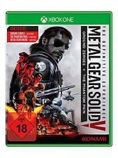 Xbox One Metal Gear Solid 5 The Definitive Experience 3 Spiele+alle DLCs Neu