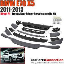Aerodynamic Body Kit Bumper Diffuser Air Dam Front Rear Set BMW X5 2011-2013 E70