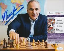 Garry Kasparov In-Person Signed 8x10 Photo w/ JSA COA #R73587