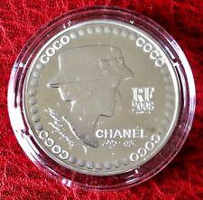 FRANCE - Très Rare Monnaie de 5 Euro 2008 en Argent - COCO CHANEL