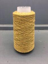 Lanas amarillos de algodón, algodón