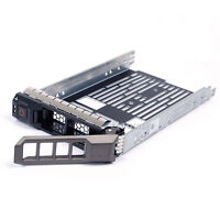 "3.5"" SAS SATA Hard Drive Tray Caddy + Screws For Dell PowerEdge R710 US Seller"