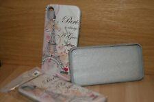 iPhone XR TPU Case Bling Paris Glitters White 3D Combination Color