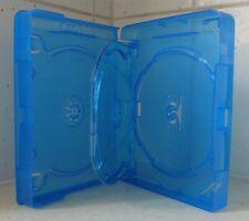 Case: Blu-Ray - 1 - For 4 Discs Each 1 Flip Tray Amaray Blue - 25mm