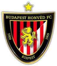 "Budapest Honved FC Hungary Football Soccer Car Bumper Sticker Decal 4""X5"""